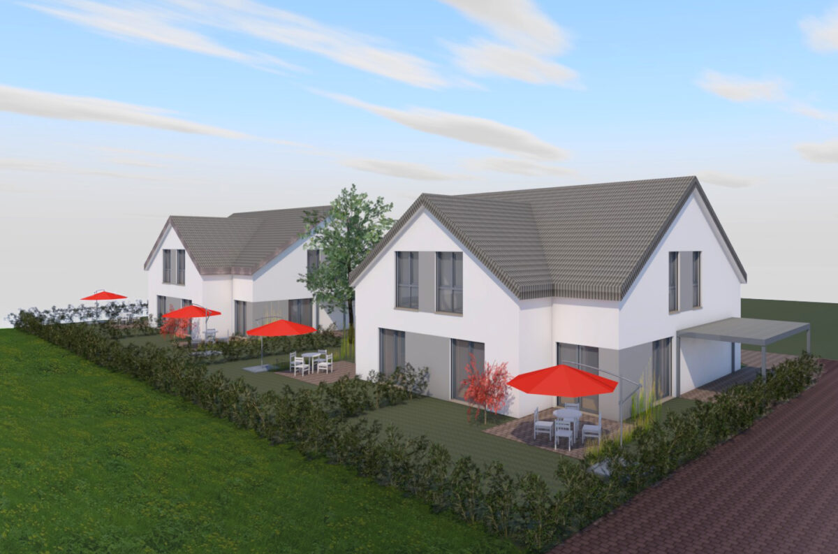 Doppelhäuser in Völkenrode